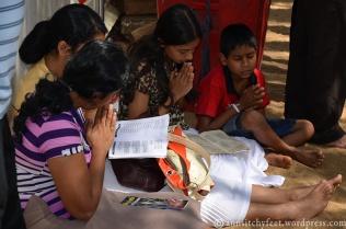 Wierni modlą się w Maha Bodhi